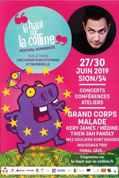 FESTIVAL LA HAUT SUR LA COLLINE - CONCERT  DE MAUVAISE GRAINE - GRAND CORPS MALADE