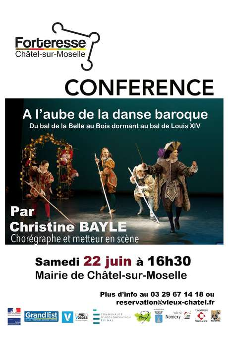 CONFÉRENCE 'A L'AUBE DE LA DANSE BAROQUE' PAR CHRISTINE BAYLE