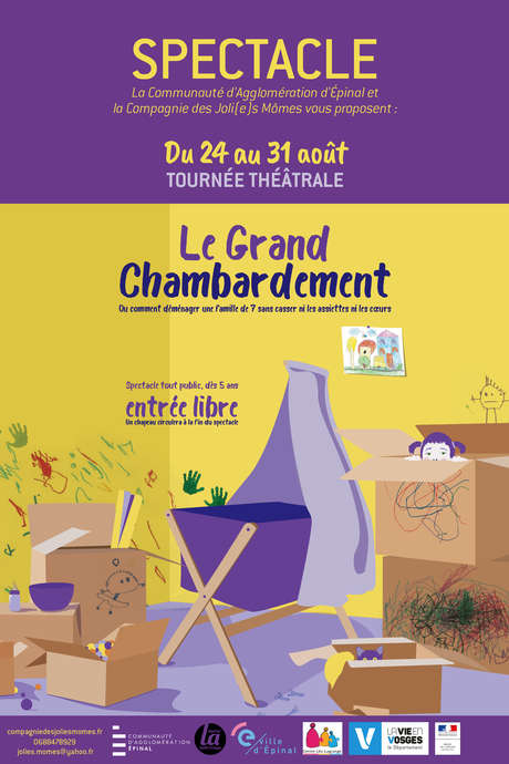 SPECTACLE : LE GRAND CHAMBARDEMENT