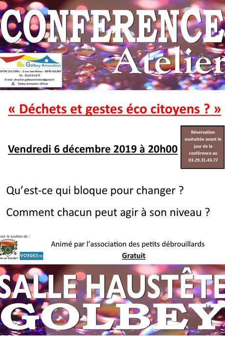 CONFERENCE ATELIER