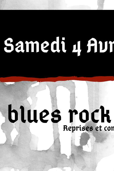 APRO BLUES ROCK BAND EN CONCERT A L'AS DE PIQUE