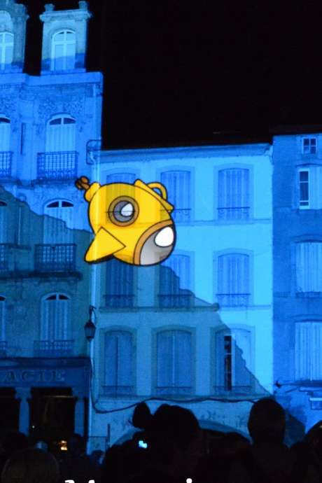 CONCOURS INTERNATIONAL DE VIDEO MAPPING - FETE DES IMAGES