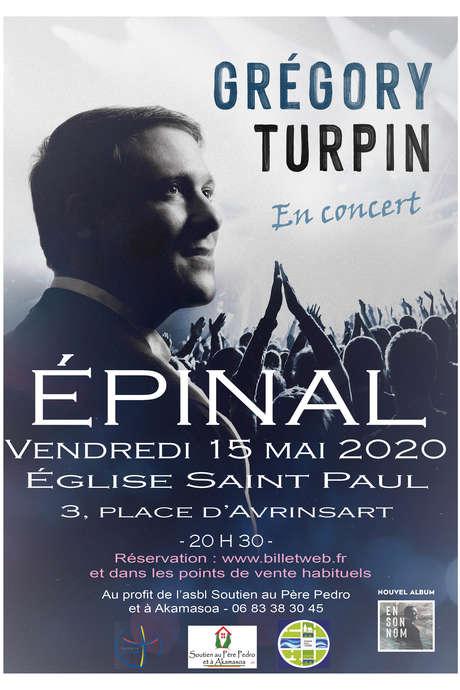 CONCERT DE GREGORY TURPIN
