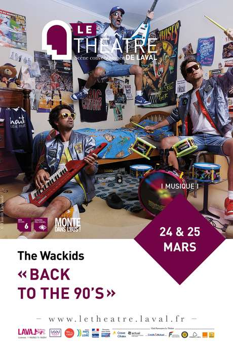 THE WACKIDS // BACK TO THE 90'S