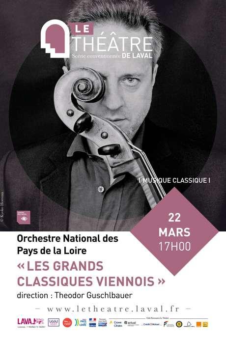 ORCHESTRE NATIONAL DES PAYS DE LA LOIRE// LES GRANDS CLASSIQUES VIENNOIS
