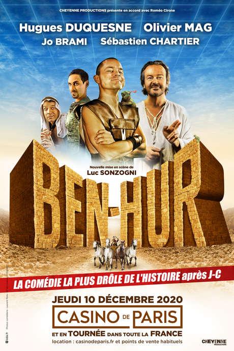 SPECTACLE : BEN-HUR - LA PARODIE