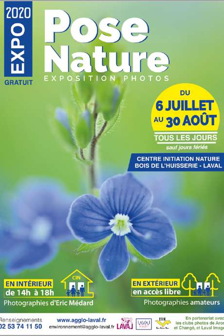 "EXPOSITION PHOTOS ""POSE NATURE"""