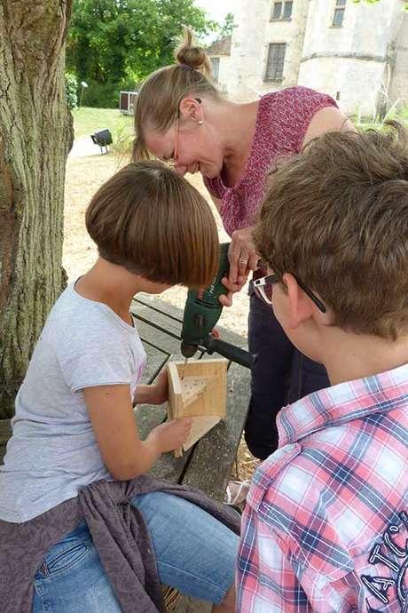 Atelier en famille : Construction de refuge à insecte