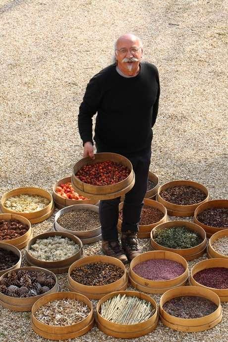 Herbier contemporain, un jardin nomade à Courboyer