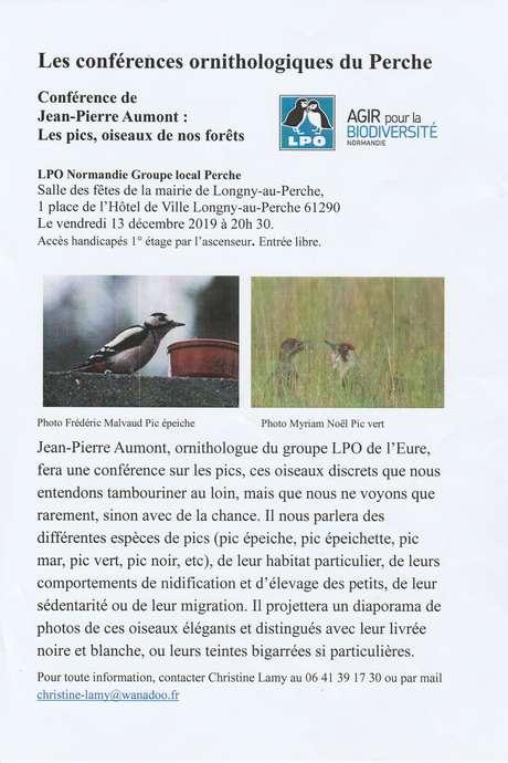 Les conférences ornithologiques du Perche