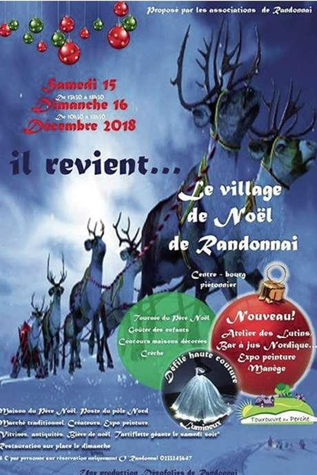 Le Village de Noel de Randonnai