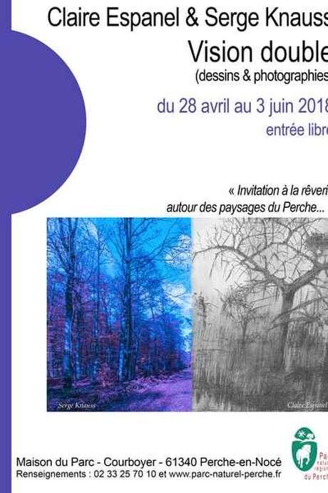 Vision double : exposition des œuvres de Claire Espanel et Serge Knauss