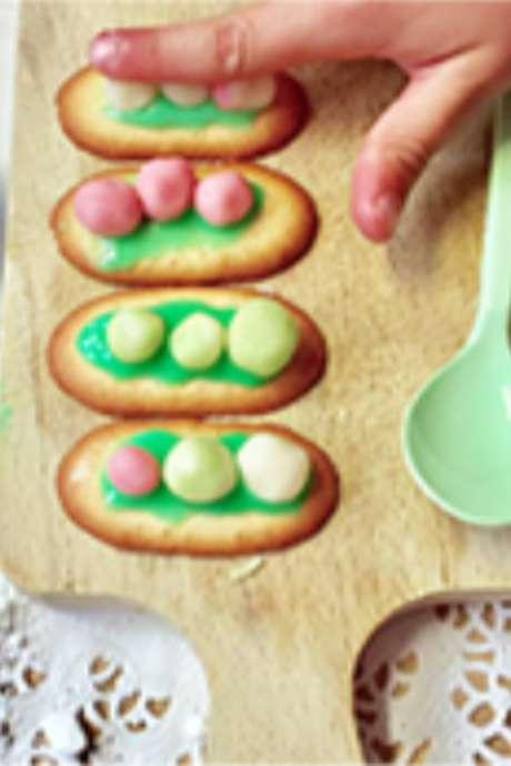 """Atelier """"Les biscuits aux si petits pois"""""""