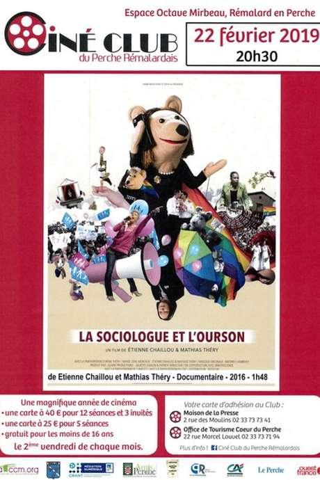 """""""La sociologue et l'ourson"""" - Séance mensuelle du Ciné-Club du Perche Rémalardais"""