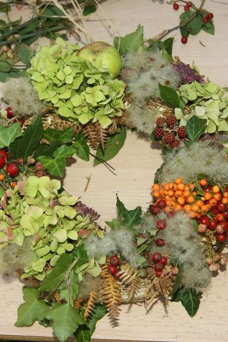 Embellissez vos tables de Noël (art floral)
