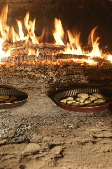 Pâtisseries au four à bois