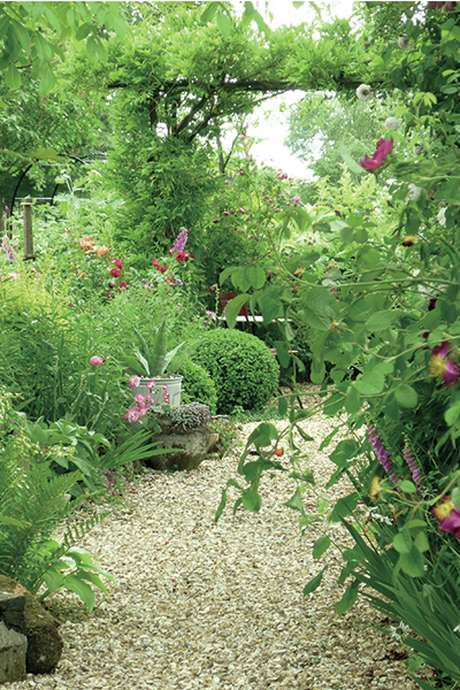 Visite du jardin du Coudray