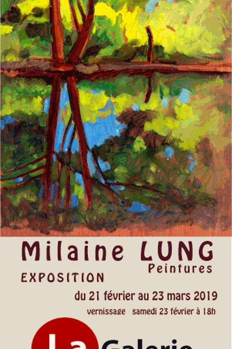 Exposition peintures - Milaine Lung