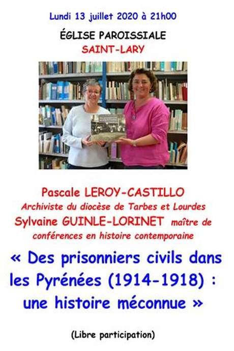 Conférence - Pascale LEROY-CASTILLO et Sylvaine GUINLE-LORINET