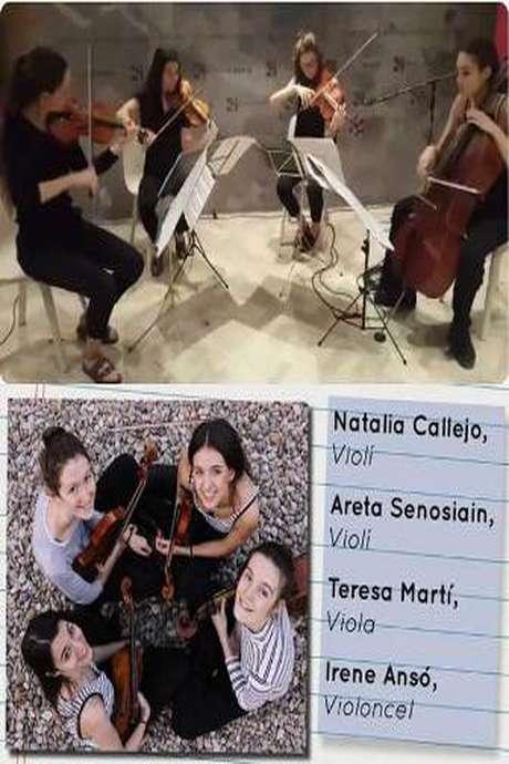 Concert Quartet de corda Tempeli