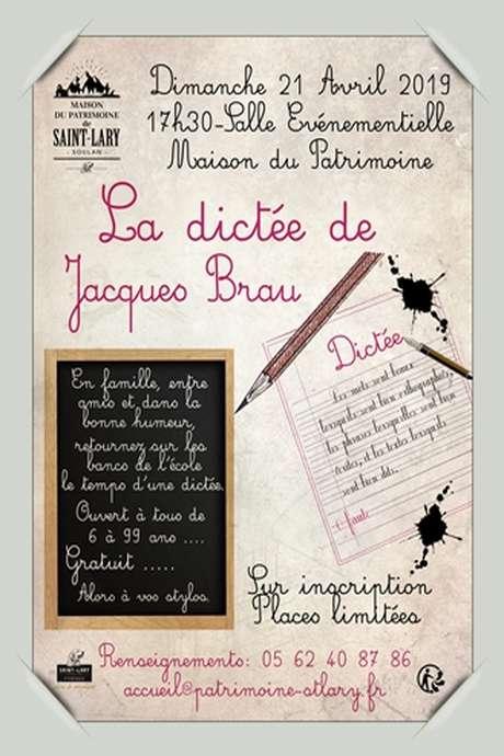 La Dictée de Jacques Brau
