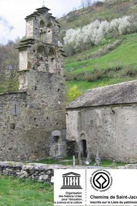 Visite guidée à Aragnouet : la chapelle des Templiers et l'église d'Eget-village
