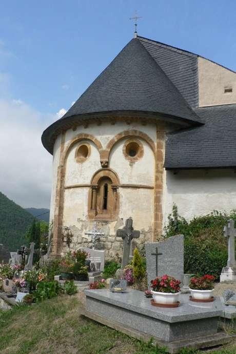 Visite guidée de l'église de Jézeau, patrimoine mondial de l'UNESCO
