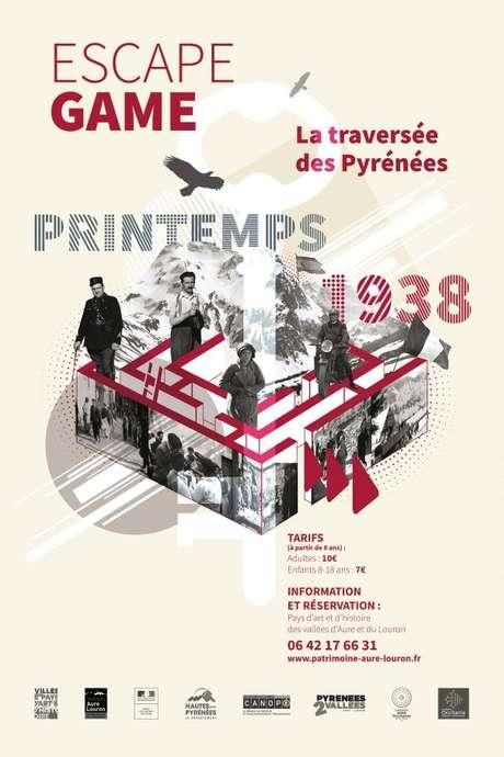 Escape game - 1938 - La traversée des Pyrénées