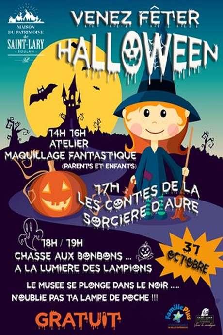 Venez fêter Halloween