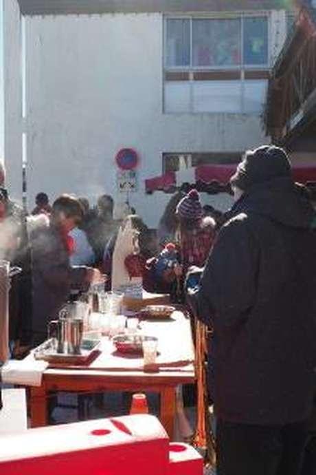 Le Petit marché du Pla d'Adet