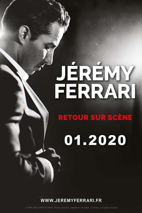 JEREMY FERRARI « ANESTHESIE GENERALE » REPORTÉ