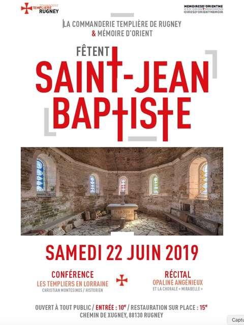 LA 'COMMANDERIE TEMPLIÈRE DE RUGNEY' FÊTE ST JEAN BAPTISTE