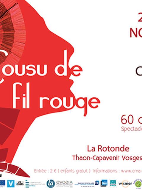 """""""COUSU DE FIL ROUGE"""" SALON DE LA CREATION TEXTILE ET MODE"""