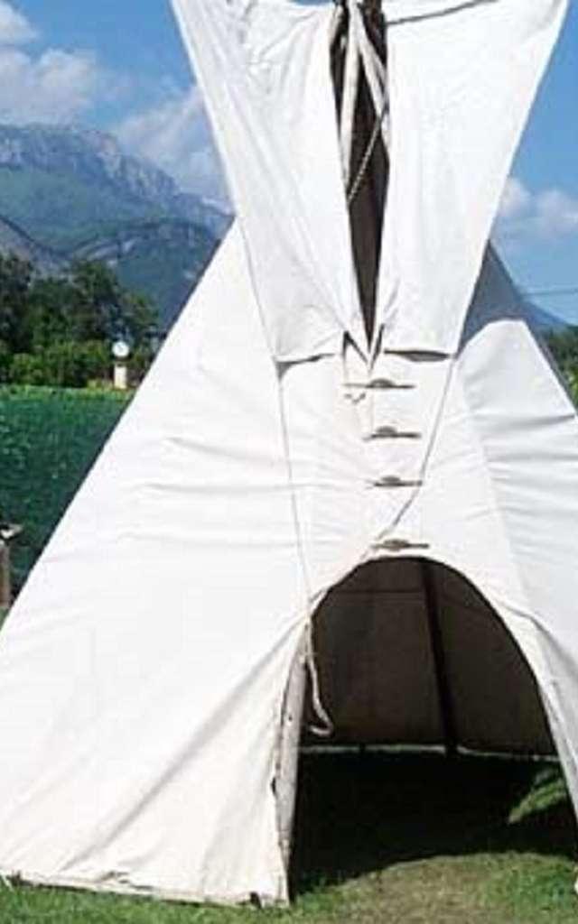 Camp Indien avec Tipis