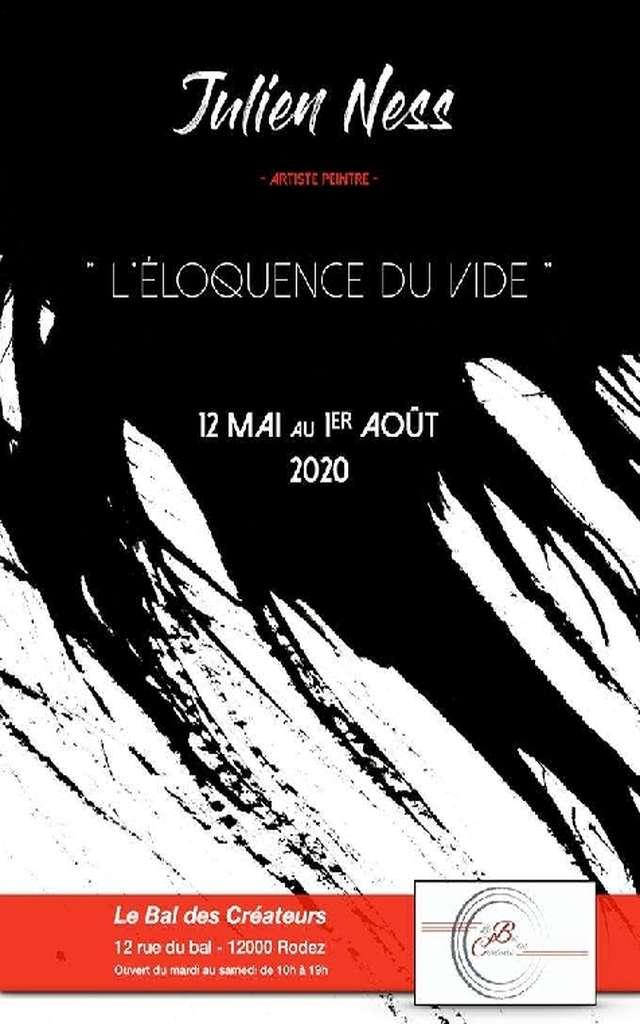 Exposition L'Eloquence du Vide - Julien Ness