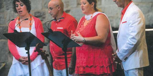 Concert du quatuor Christema