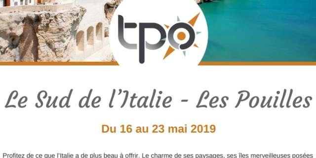Voyage TPO - Le Sud de l'Italie - Les Pouilles