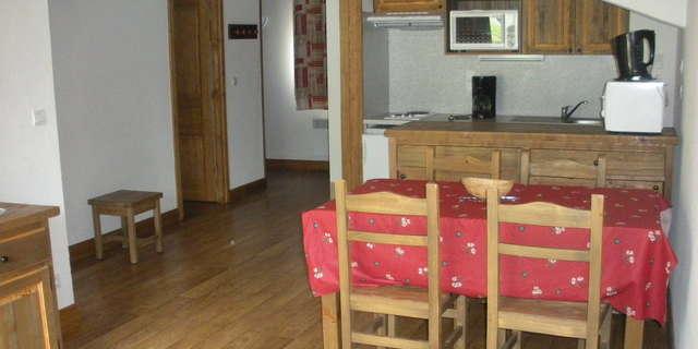 Résidence Le Clos Vanoise - Appartement 3 pièces cabine 6 personnes - CV16
