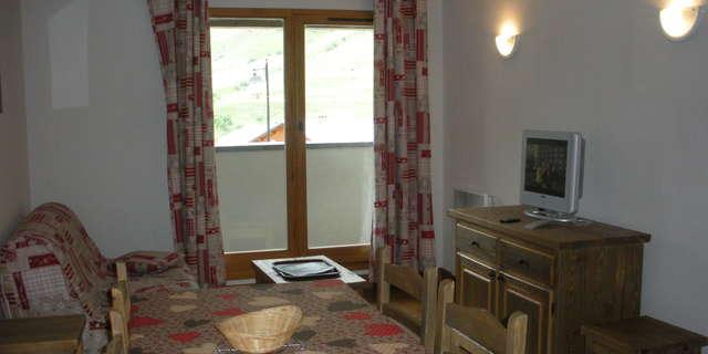 Résidence Le Clos Vanoise - Appartement 2 pièces cabine 6 personnes - CV6