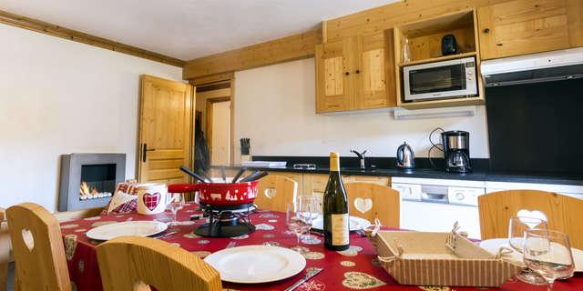Résidence Le Criterium - Appartement 4 pièces cabine 6 personnes - CRIB01