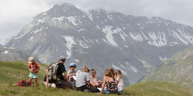 Atelier nature du Parc national de la Vanoise -  Jeu de piste