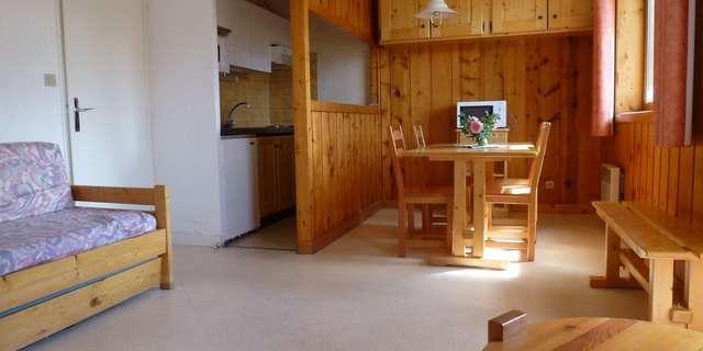 Résidence La Parrachee - Appartement 2 pièces cabine 5 personnes - PARA2