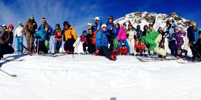 6e rencontre de télémark de Val Cenis La K'Ribou