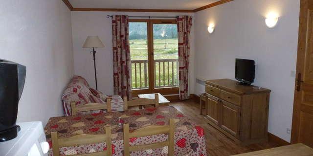 Résidence Le Clos Vanoise - Appartement 2 pièces cabine 6 personnes - CVE12