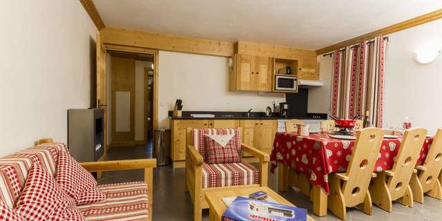 Résidence Le Criterium - Appartement 4 pièces cabine 6 personnes - CRIC03
