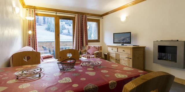 Résidence Le Criterium - Appartement 3 pièces cabine 6 personnes - CRIC04