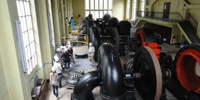 Hydroelectric power plant of Avrieux : guided visit