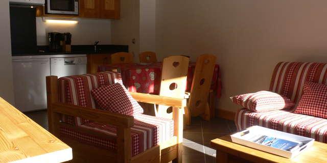 Résidence Le Criterium - Appartement 3 pièces cabine 6 personnes - CRID07