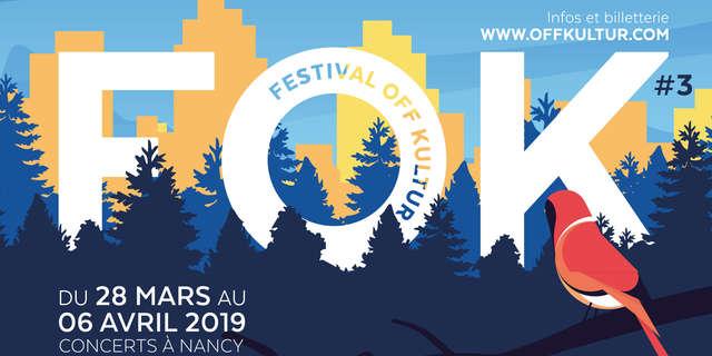 FESTIVAL FOK#3 - CONCERT JOKO + DEGREE + EYLIA X MAJEUR MINEUR