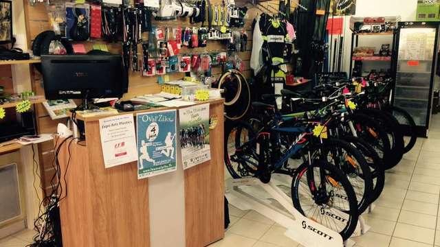 Cycles et Pêche : vente et réparation de vélos